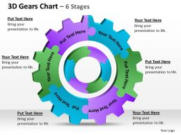 3D Gears Chart 6 Stages 1