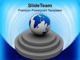 3d_globe_on_pedestal_business_powerpoint_templates_ppt_themes_and_graphics_Slide01