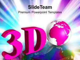 3d Globe Unique Earth Powerpoint Templates Ppt Themes And Graphics 0313