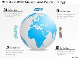 3d_globe_with_business_mission_and_vision_strategy_ppt_presentation_slides_Slide01