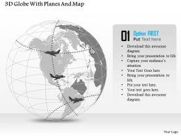 3d_globe_with_planes_and_map_ppt_presentation_slides_Slide01