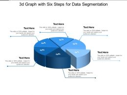 3d Graph With Six Steps For Data Segmentation