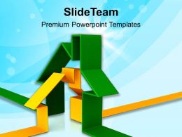 3d Houses Concept Illustrations Powerpoint Templates PPT Themes And Graphics 0113