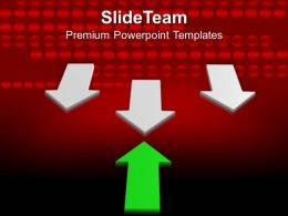 3d Illustration Of Arrows PowerPoint Templates PPT Themes And Graphics 0213