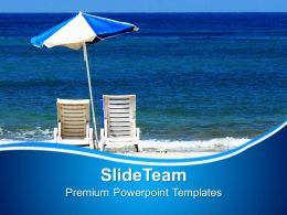 3d Illustration Of Beach Beauty Powerpoint Templates Ppt Themes And Graphics 0213