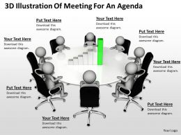 3d_illustration_of_meeting_for_an_agenda_ppt_graphics_icons_Slide01