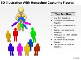 3d_illustration_with_horseshoe_capturing_figures_ppt_graphics_icons_powerpoin_Slide01