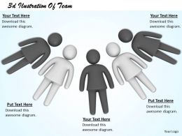 3d Ilustration Of Team Ppt Graphics Icons Powerpoint