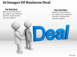 3d Image Of Business Deal Ppt Graphics Icons Powerpoint