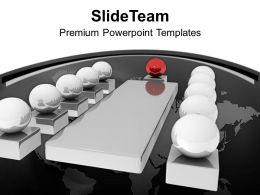 3d Image Of Business Meeting PowerPoint Templates PPT Backgrounds For Slides 0213