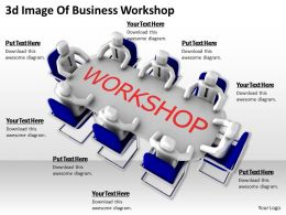 3d Image Of Business Workshop Ppt Graphics Icons Powerpoint