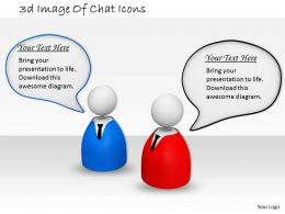 3d Image Of Chat Icons Ppt Graphics Icons Powerpoint