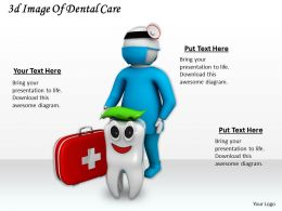 3d Image Of Dental Care Ppt Graphics Icons Powerpoint