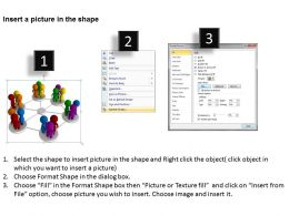3D Image of Diverse Networking Ppt Graphics Icons Powerpoint