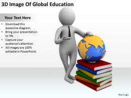 3D Image Of Global Education Ppt Graphics Icons Powerpoint