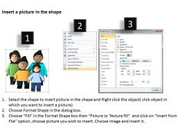 3D Image Of Happy Family Ppt Graphics Icons Ppt Graphics Icons Powerpoint