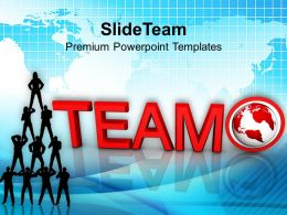 3d Image Of Team Concept Powerpoint Templates PPT Themes And Graphics 0113