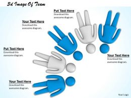 3d Image Of Team Ppt Graphics Icons Powerpoint