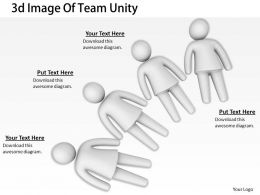 3d Image Of Team Unity Ppt Graphics Icons Powerpoint