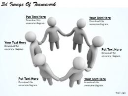 3d Image Of Teamwork Ppt Graphics Icons Powerpoint