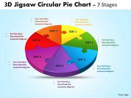 3d_jigsaw_circular_pie_chart_diagram_powerpoint_templates_6_Slide01