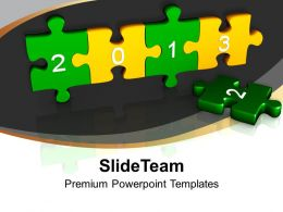3d Jigsaw Puzzle With 2013 Business Powerpoint Templates Ppt Themes And Graphics 0113