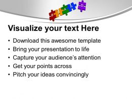 3d Jigsaw Puzzles Of Brand Sales Powerpoint Templates Ppt Themes And Graphics 0113