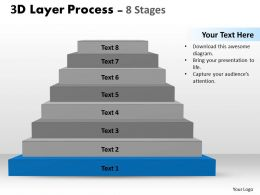 73297693 Style Layered Stairs 8 Piece Powerpoint Presentation Diagram Infographic Slide