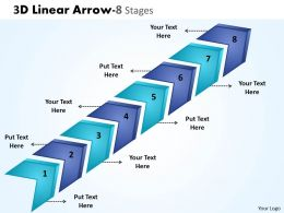 3D Linear Arrow 8 Stages 7