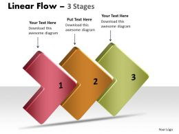 3D Linear Flow 3 Stages 10