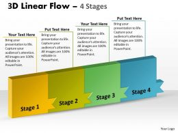 3D Linear Flow 4 Stages 11