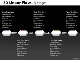 3D Linear Flow 5 Stages 10