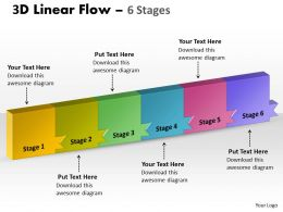 3D Linear Flow 6 Stages 11