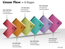 3D Linear Flow 6 Stages 9
