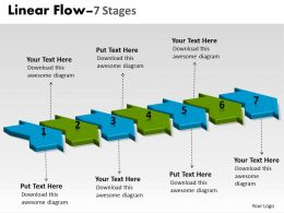 3D Linear Flow 7 Stages 10