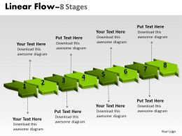 3D Linear Flow 8 Stages 11