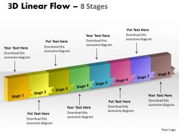 3D Linear Flow 8 Stages 9
