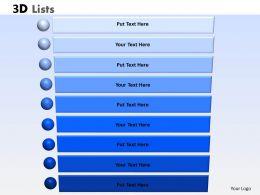 3D List 9 Steps 7