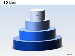 3D List Circular Design