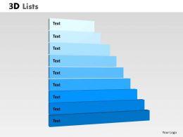 3d_list_diagram_for_business_process_flow_Slide01