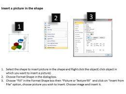 3D Man Arranging Blocks Ppt Graphics Icons Powerpoint