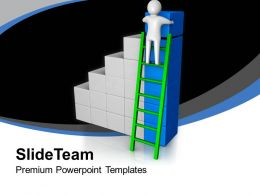 3d Man Arranging Cubes Bar Graph Business PowerPoint Templates PPT Themes And Graphics 0213