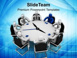3d Man Business Conference Meeting Leadership Powerpoint Templates Ppt Themes And Graphics 0313