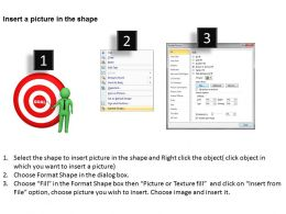 3D Man Explaining Goals And Target Business Ppt Graphics Icons Powerpoint