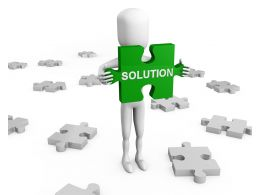 3d_man_holding_puzzle_of_solution_stock_photo_Slide01