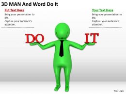 3d_man_holding_words_do_it_ppt_graphics_icons_powerpoint_Slide01
