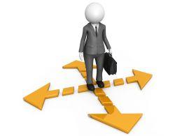 3d_man_on_four_directional_arrow_stock_photo_Slide01