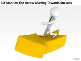 3d_man_on_the_arrow_moving_towards_success_ppt_graphics_icons_Slide02