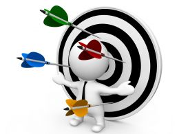 3d_man_standing_in_front_of_dartboard_surrounded_by_arrows_stock_photo_Slide01