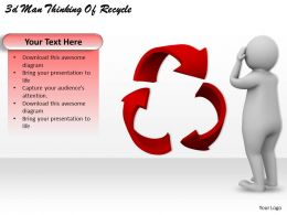 3d_man_thinking_of_recycle_ppt_graphics_icons_powerpoint_Slide01